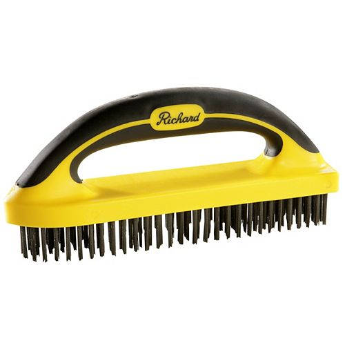High Carbon Steel Wire Brush,6x30row