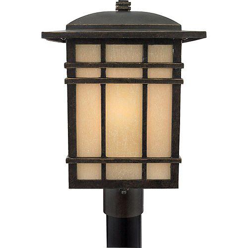 Monroe 3 Lumière Médicis Bronze Incandescent Outdoor Post Lantern