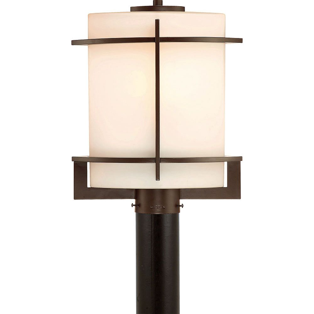 Filament Design Monroe 1 Light Western Bronze Outdoor Incandescent Post Lantern
