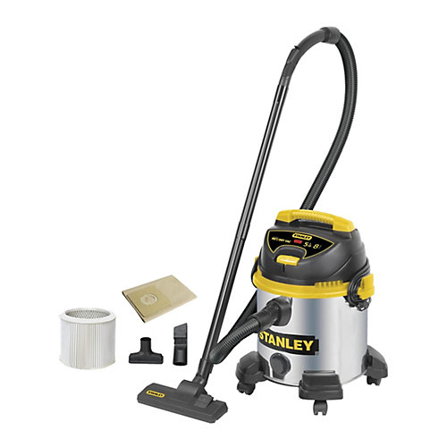 Stainless Steel Wet/Dry Vacuum  8 Gallons