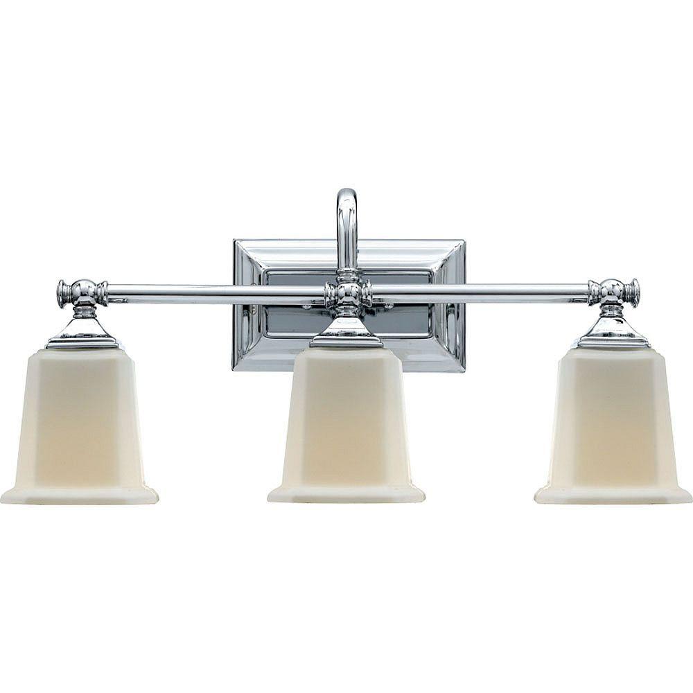 Filament Design Monroe 2 lumières, nickel brossé Vanity halogène avec un gravé ombre d'Opale