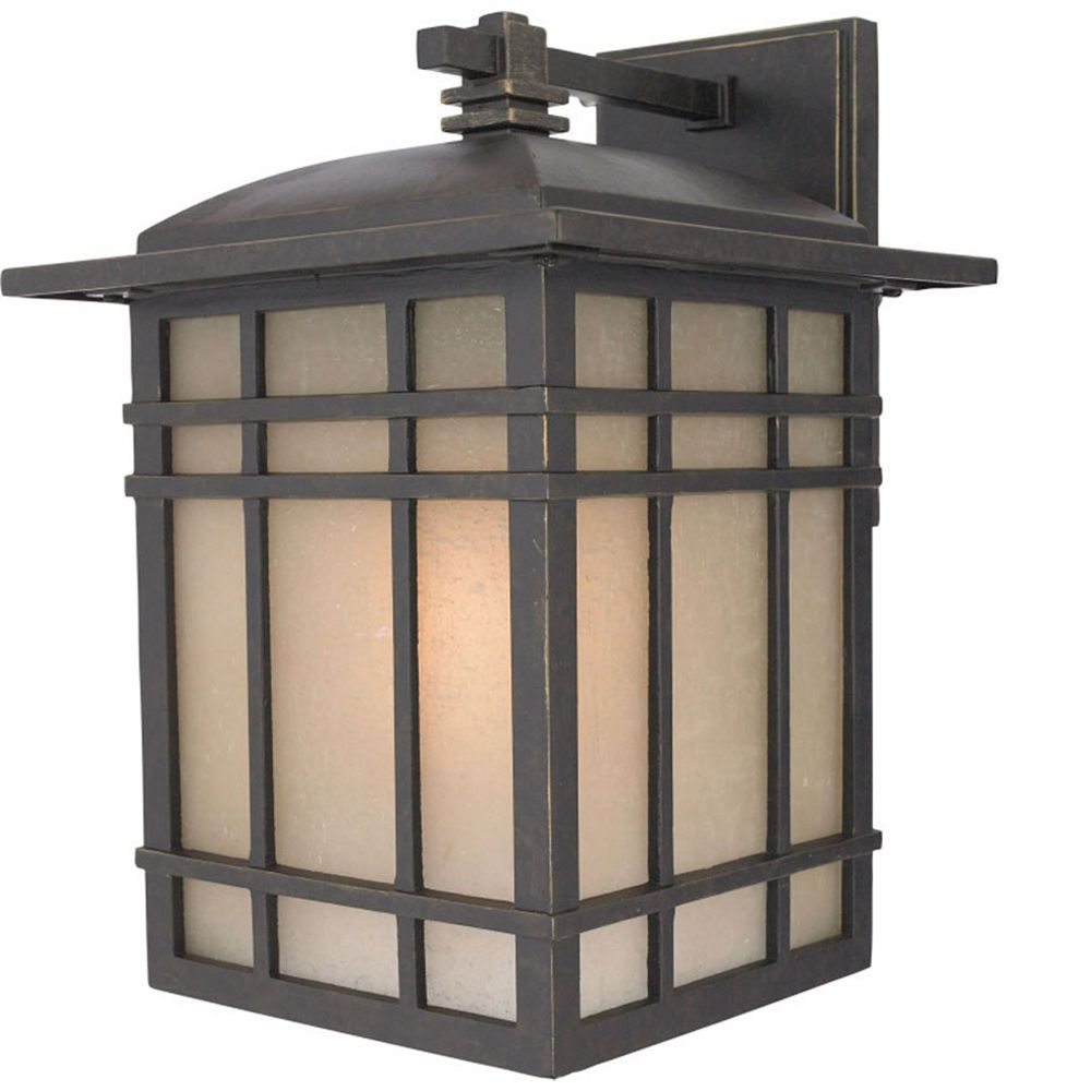 Filament Design Monroe 1 Light Imperial Bronze Outdoor Compact Florescent Wall Lantern