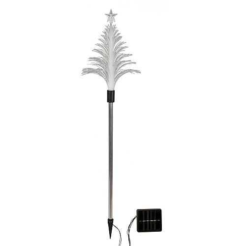 Home Accents Holiday 7 ft. Ashley Scotch Pine Pre-Lit Tree
