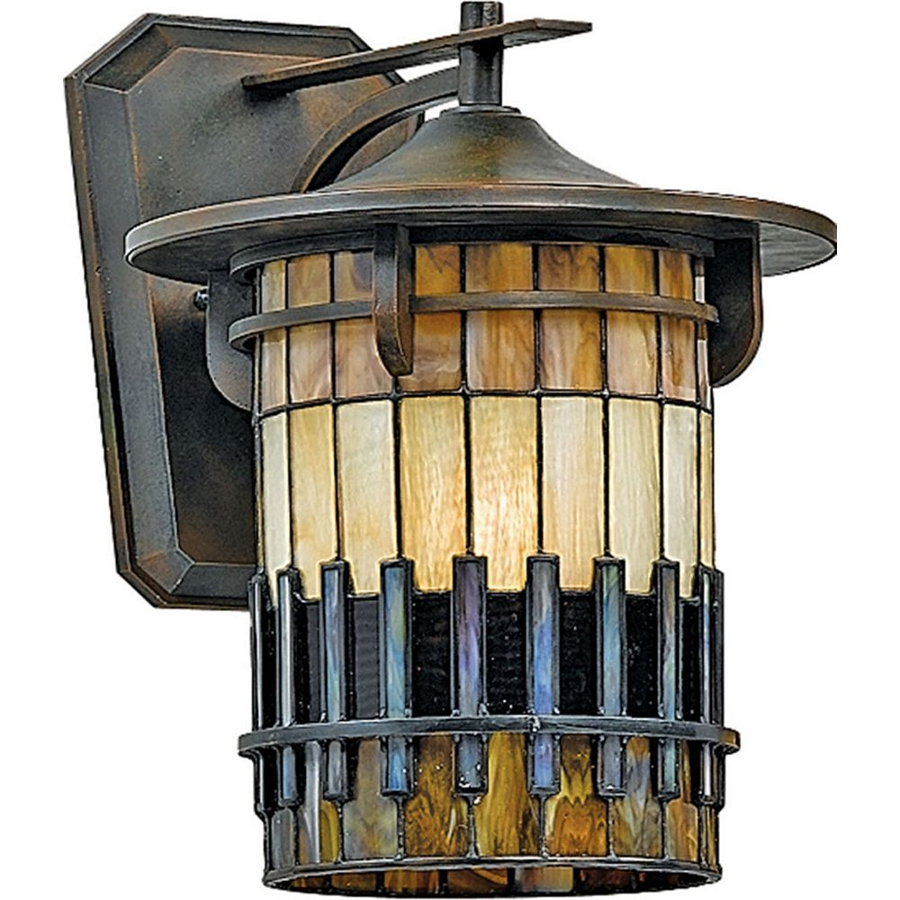 Filament Design Monroe 1 Light Bergamo Outdoor Compact Florescent Wall Lantern