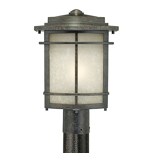 Monroe 1 Bronze Lumière Outdoor incandescence Lampadaire Ouest