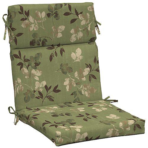 High Back Outdoor Chair Cushion in Parson