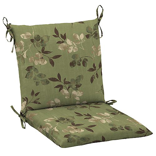 Outdoor Mid Back Chair Cushion in Parson