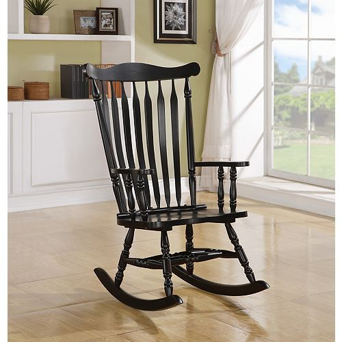 Solid Wood Rocking Chair in Oak