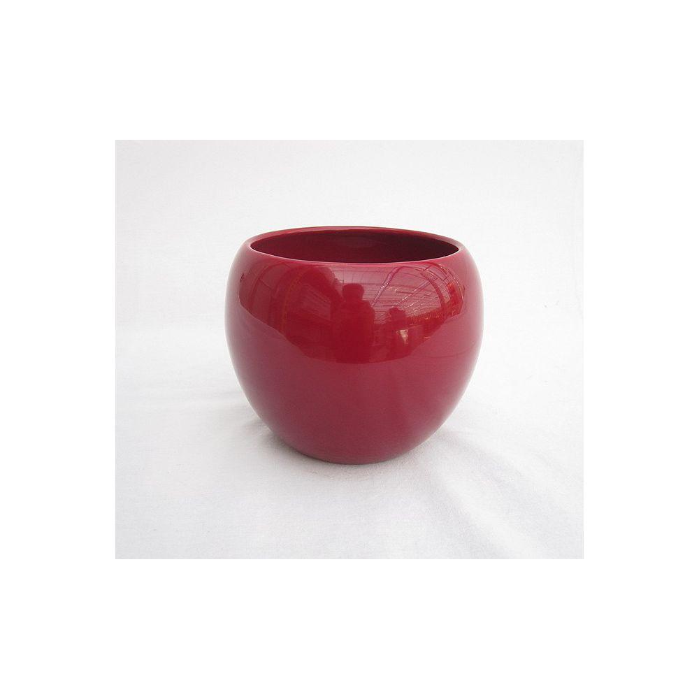 Foliera Red 4 1/2-inch Ceramic Pot