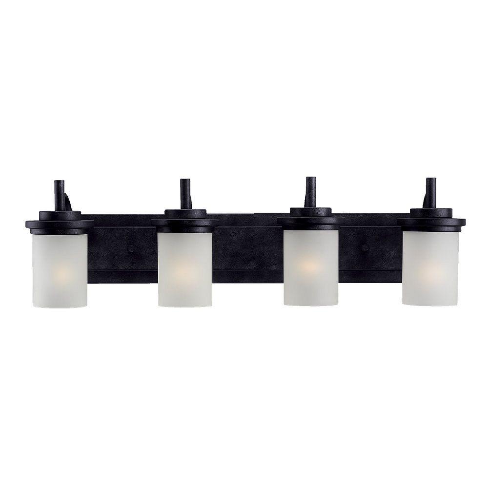 Sea Gull Lighting 4-Light Blacksmith Bathroom Vanity