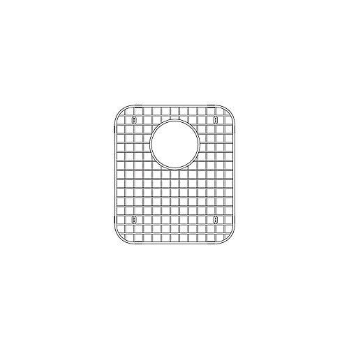 Stellar 1.75 Sink Grid, Small Bowl, Stainless Steel