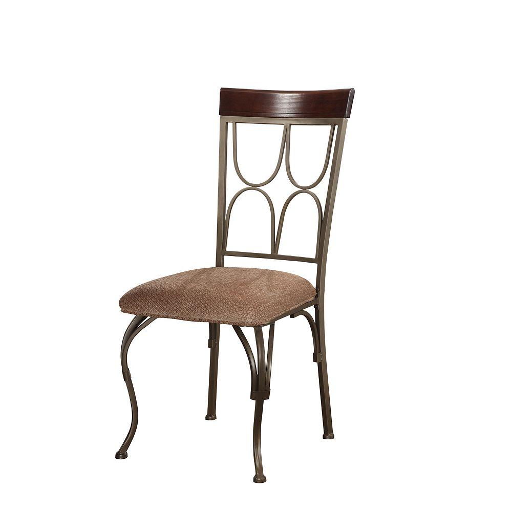Powell Chaise de salle à manger Langley, hauteur du siège: 45,7cm (18po)  offerte en ensemble de deux