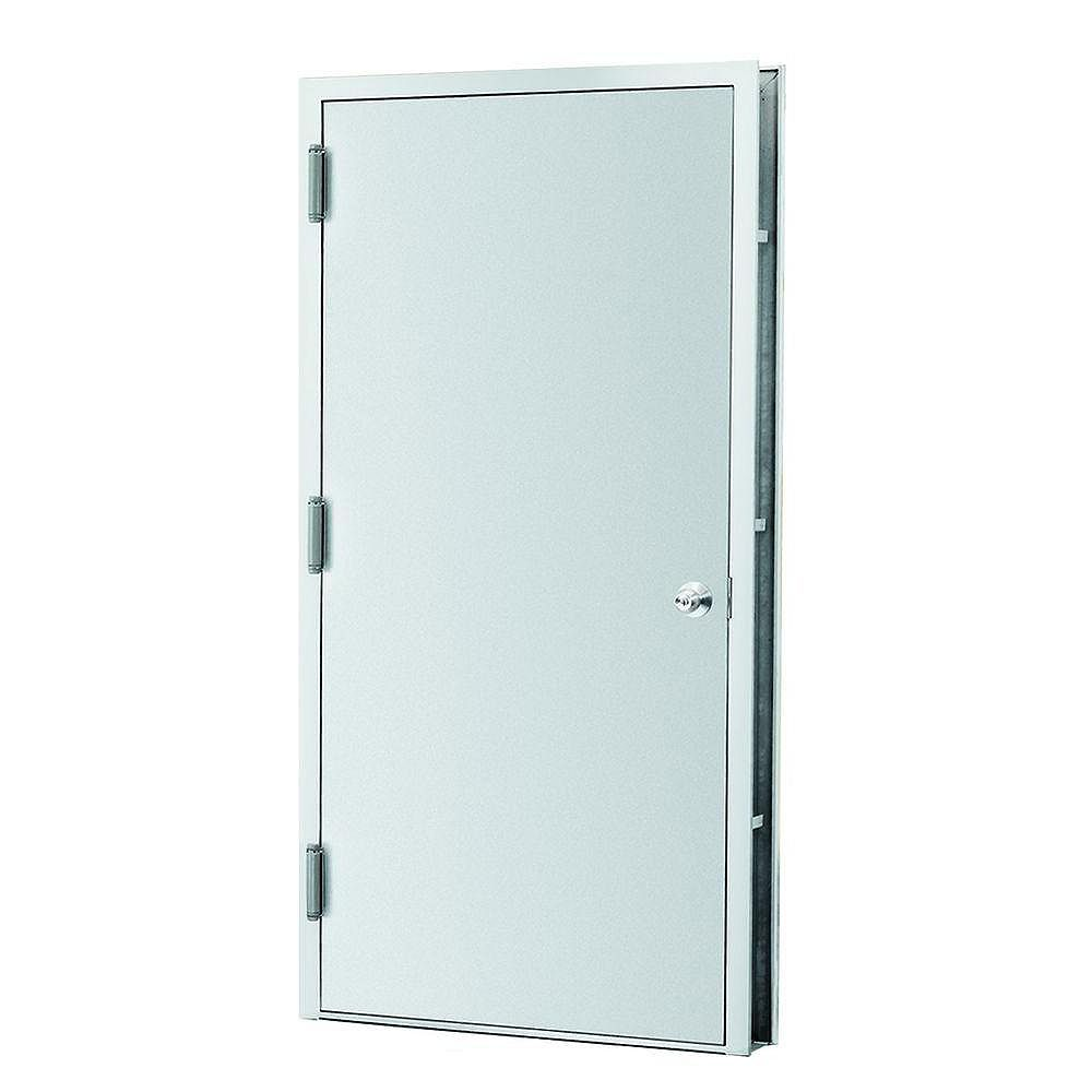L.I.F INDUSTRIES, INC 36x80 Steel Pre-Hung Unit R.H - ENERGY STAR®