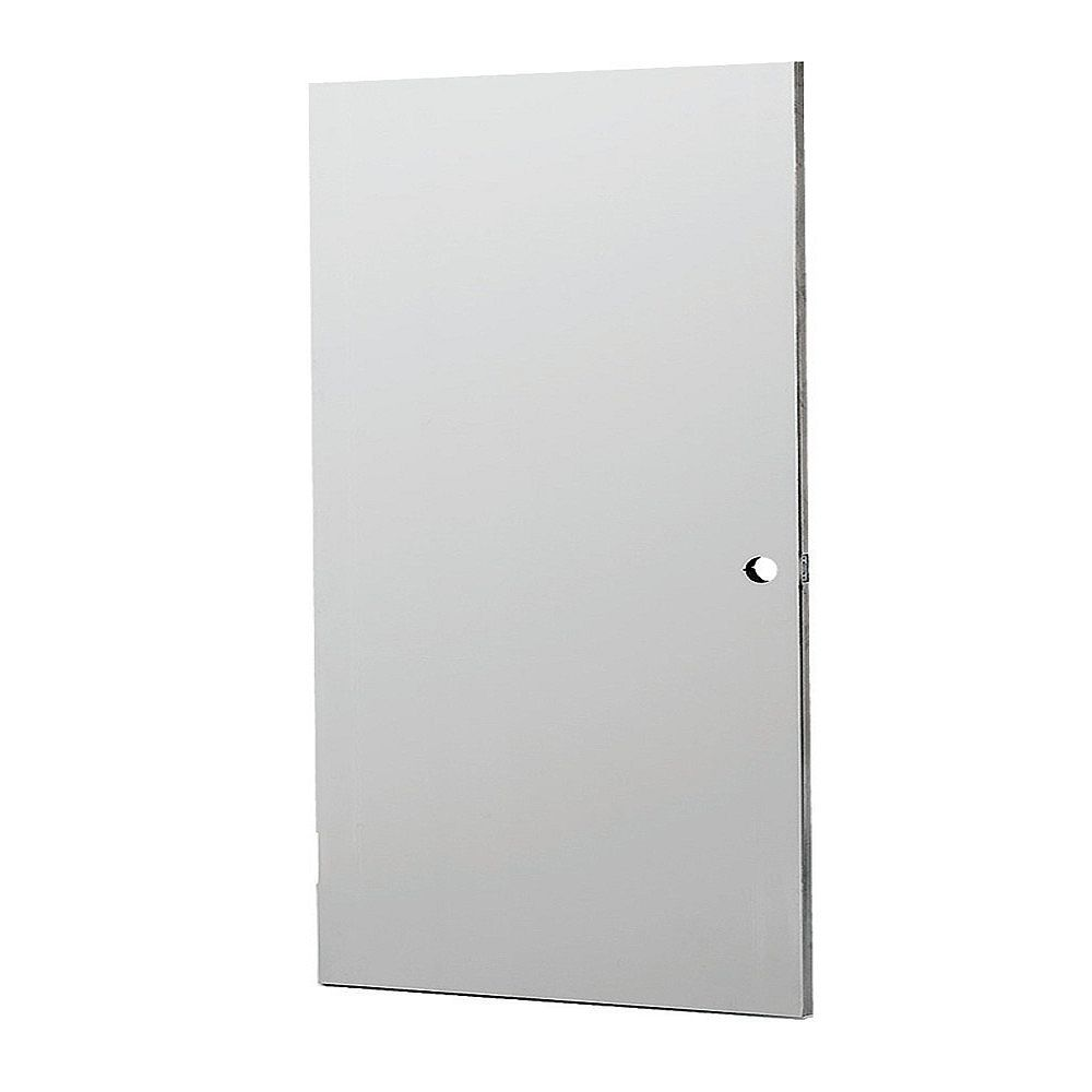 L.I.F INDUSTRIES, INC 36x80 Steel Flush Door Reversible Swing