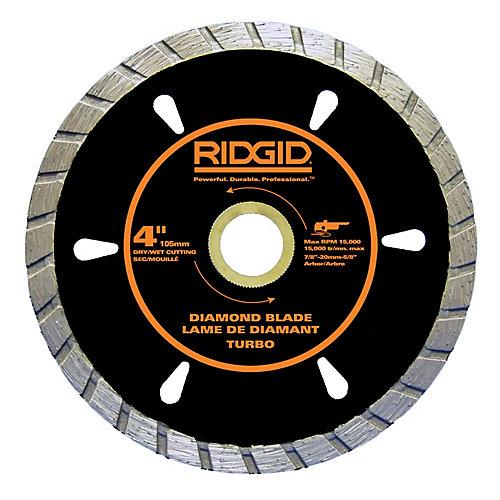 4 Inch Turbo Diamond Blade
