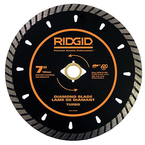 7 Inch Turbo Diamond Blade