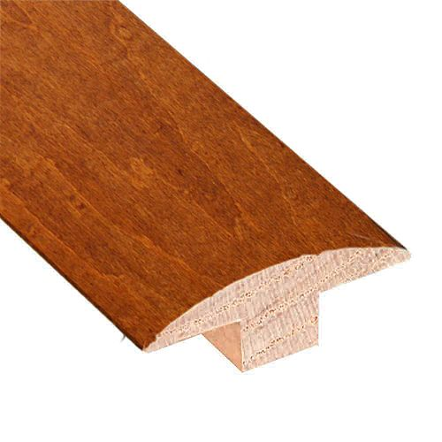 Carmine and Umber Cork- 2-inch Wide x 78-inch Length T-Molding