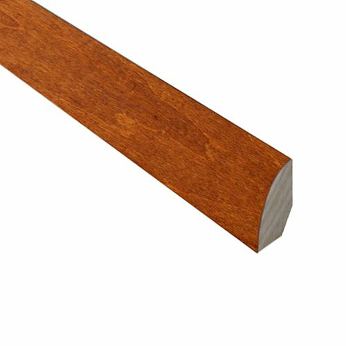 Carmine and Umber Cork- .75 in Wide x 78-inch Length Quarter Round Molding