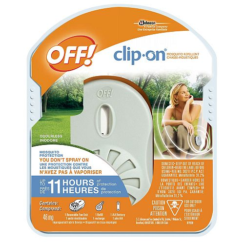 Clip-On Mosquito Repellent Holder