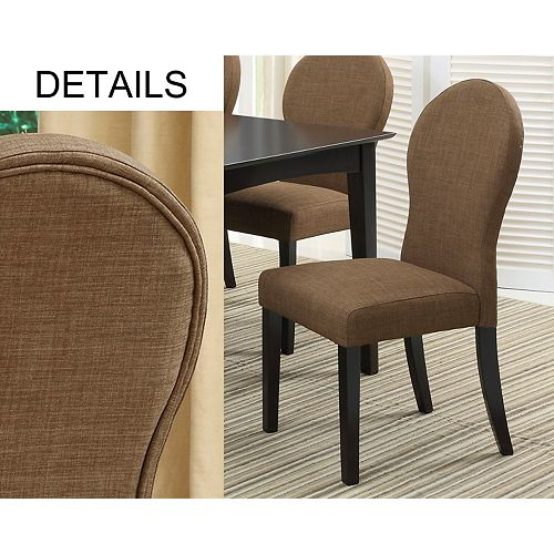 Lina Parsons Chair (Set of 2) - Brown