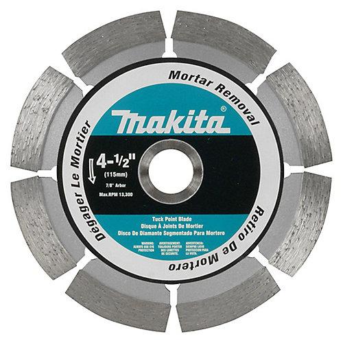 4-1/2 Inch  Tuck Point Wheel 7/8 Inch