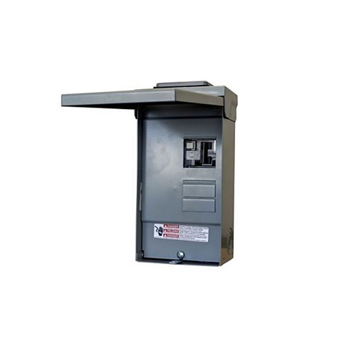 4/8 Circuit 125A 240V  SPA Loadcente With 50A GFCI Breaker