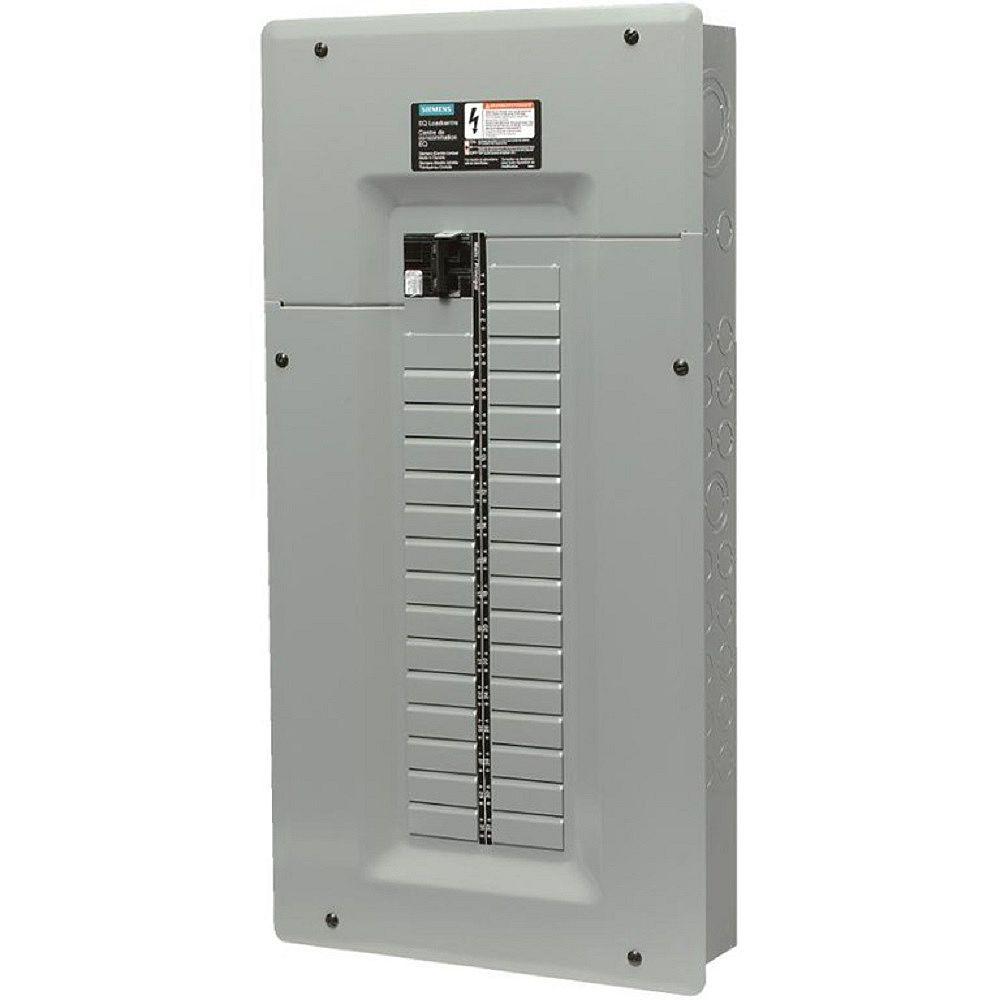 Siemens Panneau 32/64 circuits avec disjoncteur principal de 125A et disjoncteur de Défaut d'Arc