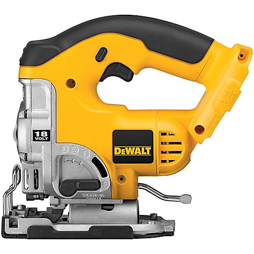 18V NiCd Cordless Jig Saw with Keyless Blade Change (Tool-Only)