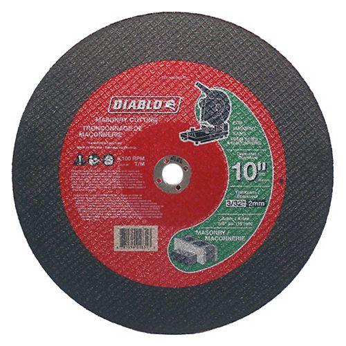 10 x 3/32 in.  Masonry Cut Off Disc