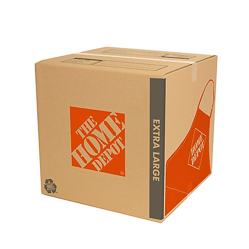 22 inch L x 21.5 inch W x 22 inch D Extra Large Moving Box