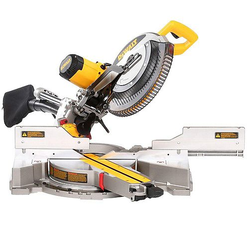 15 Amp Corded 12-inch Double Bevel Sliding Compound Miter Saw