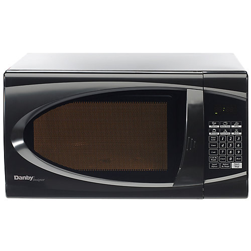 1.1 Cubic Feet Microwave - Black