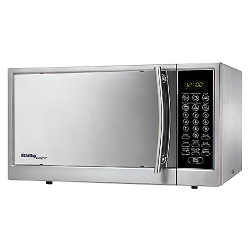 1.0 Cubic Feet Microwave - Stainless