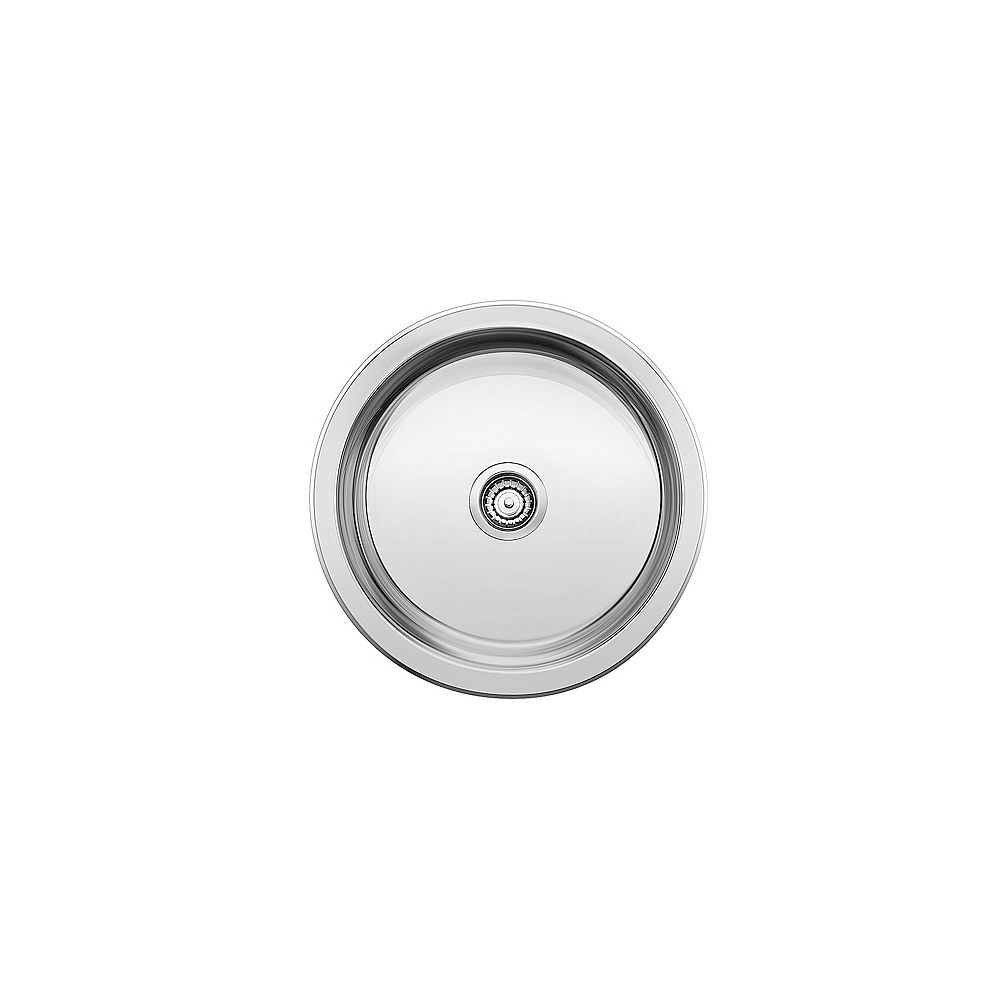 Blanco WINCHESTER Round Single Bowl Stainless Steel Drop-in Bar/Preparation Sink