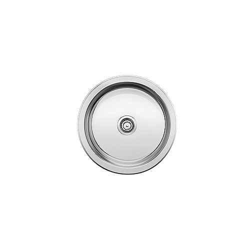 WINCHESTER Round Single Bowl Stainless Steel Drop-in Bar/Preparation Sink