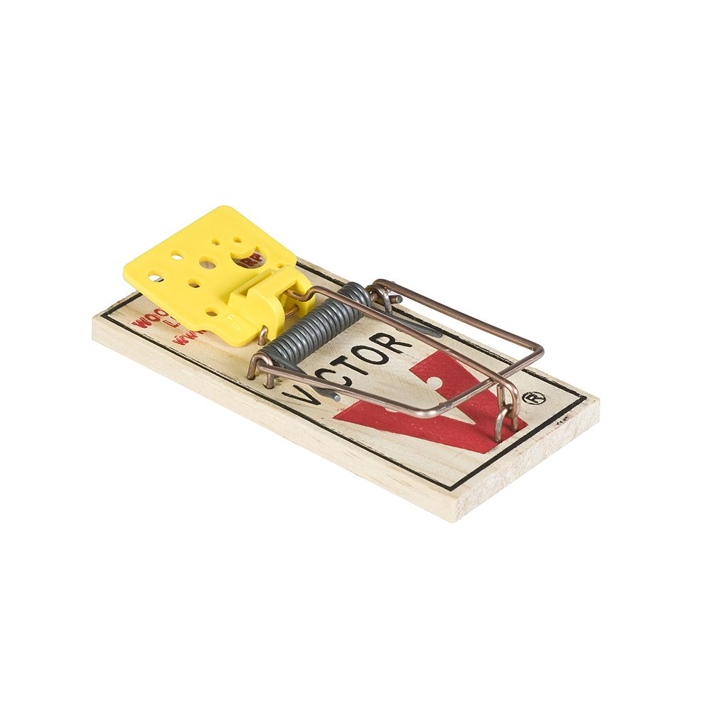 Victor Easy Set Mouse Trap (4-Pack)