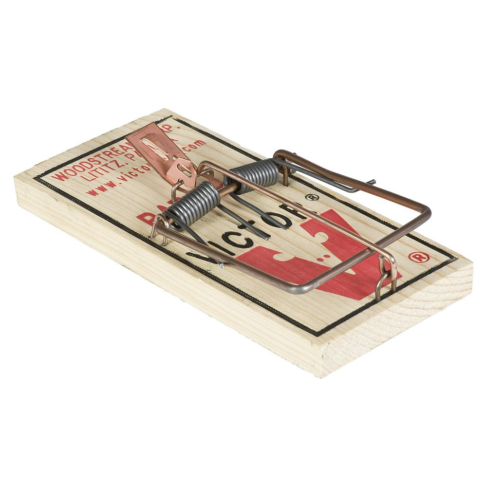 Victor Metal Pedal Rat Trap  2 Pack