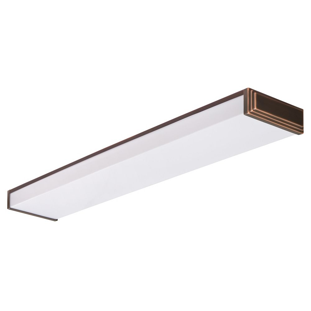 Lithonia Lighting 4' 2L T8 32W Bronze Wrap Riser