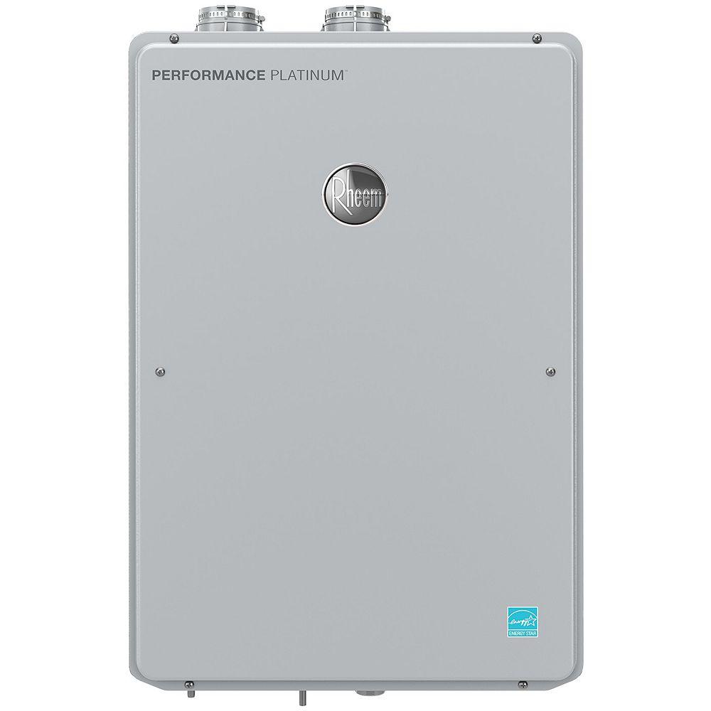 Rheem Rheem Platinum Condensing 18.5 Litres Per Minute Natural Gas Tankless Water Heater, 199K BTU