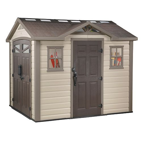 Keter Summit 8 ft. x 9 ft. Shed