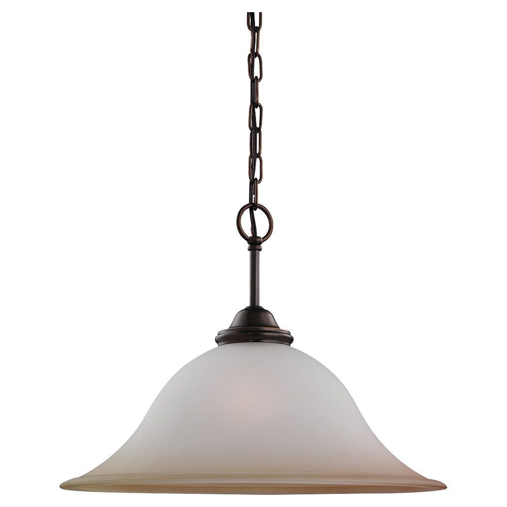 Sea Gull Lighting 1-Light Russet Bronze Pendant