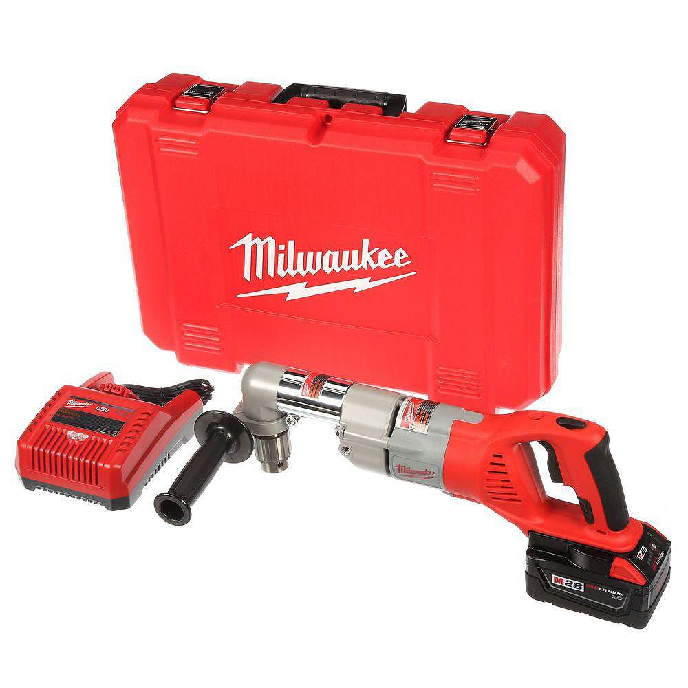 Milwaukee Tool Ensemble de perceuse sans fil à angle droit M28