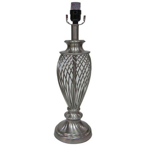 Lampe de table spiralée avec cage