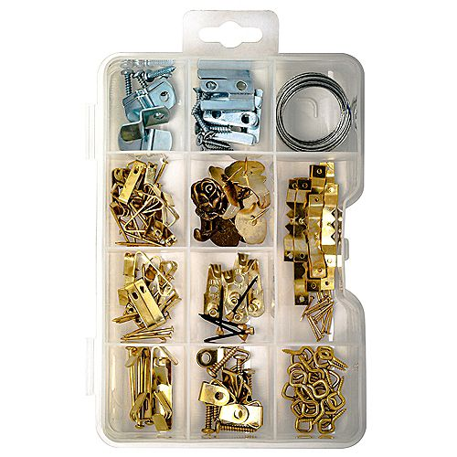 Contractor Quality Picture Hanging Kit - 136pcs
