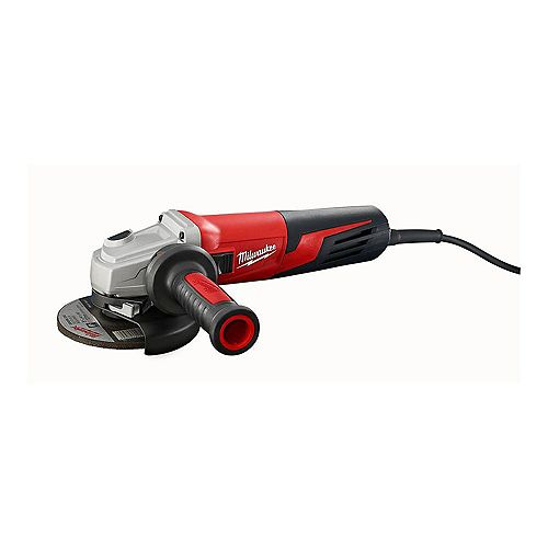 Milwaukee Tool 13 amp 5- Inch Small Angle Grinder Slide