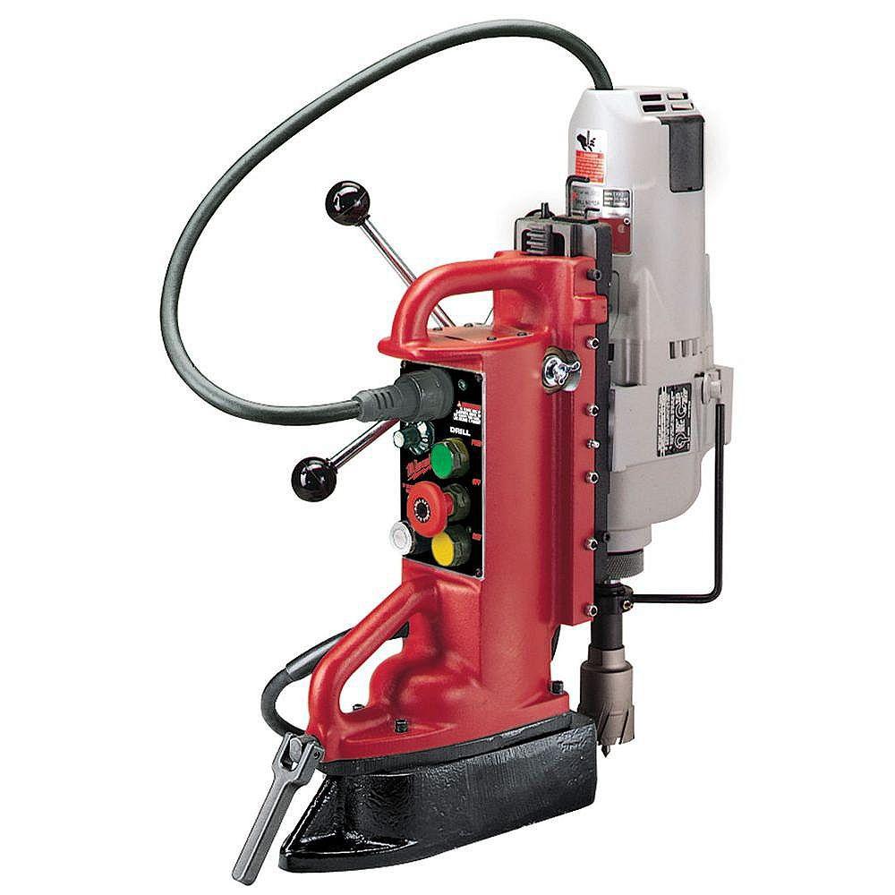 Milwaukee Tool Perceuse à colonne électromagnétique à position ajustable avec moteur à mandrin conique Morris nº3