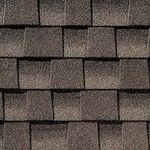 Bardeaux architecturaux de toiture Timberline HD Mission Brown Lifetime Architectural Roof Shingles (33,3 pi2 par paquet)