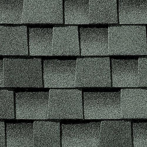 Bardeaux de toiture architecturaux Timberline HD Slate Lifetime Architectural Rooftime (33,3 pi2 par paquet)
