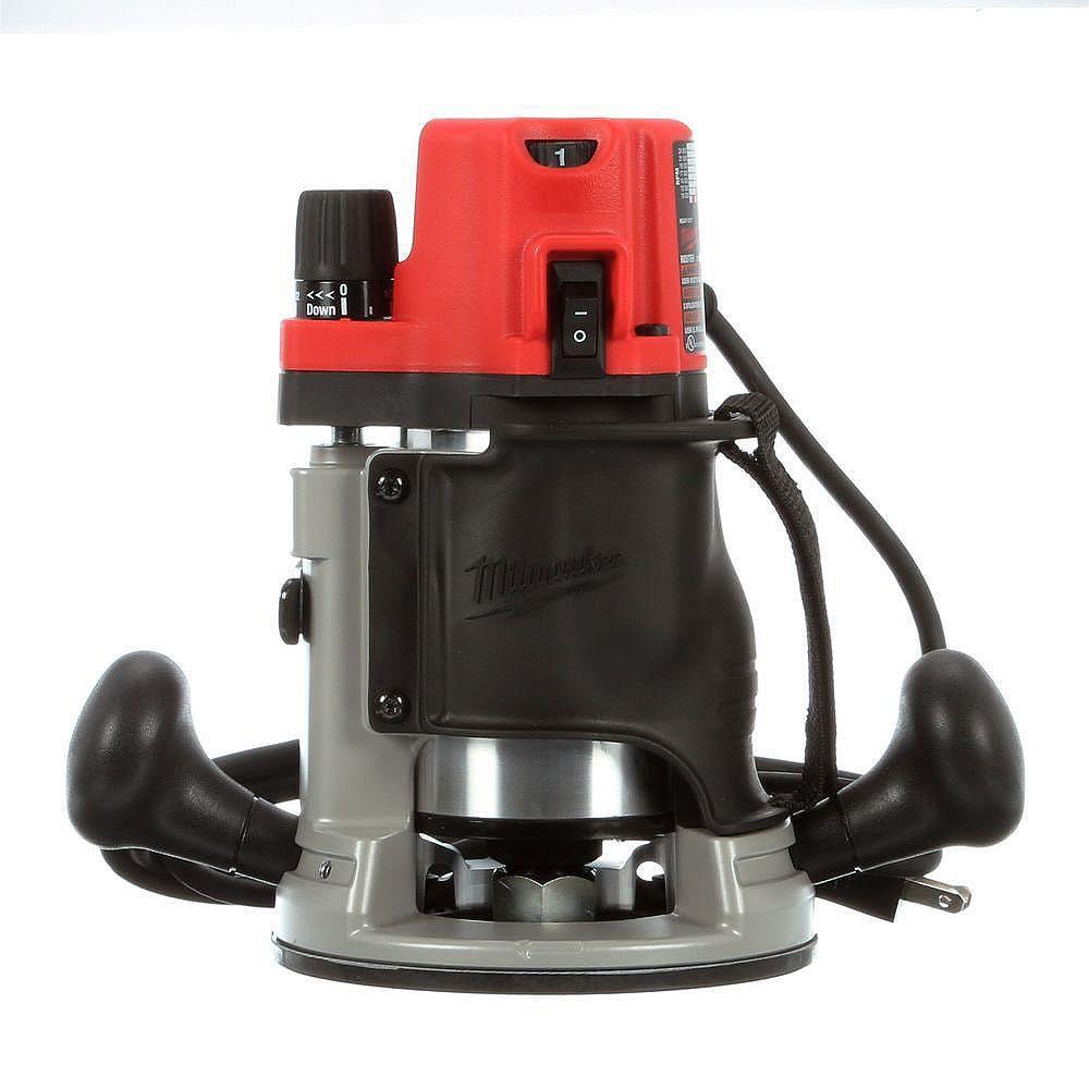 Milwaukee Tool 2-1/4 Max HP EVS BodyGrip Router Kit