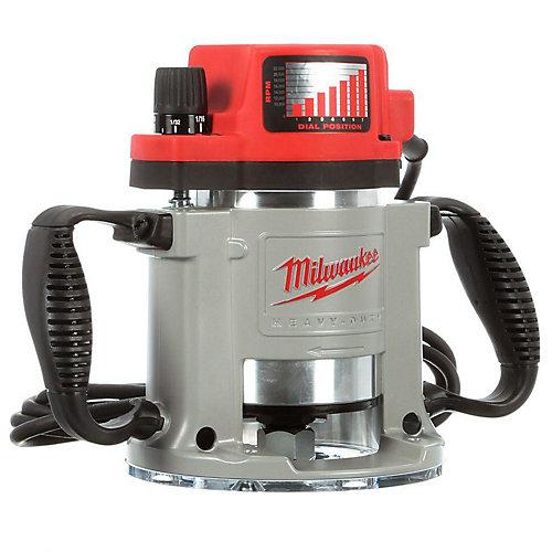 Toupie de production à base fixe d'une puissance maximale de 2,61kW (3-1/2HP) avec vitesse variable contrôlée électroniquement